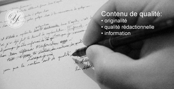 Créer du contenu de qualité pour son site Web