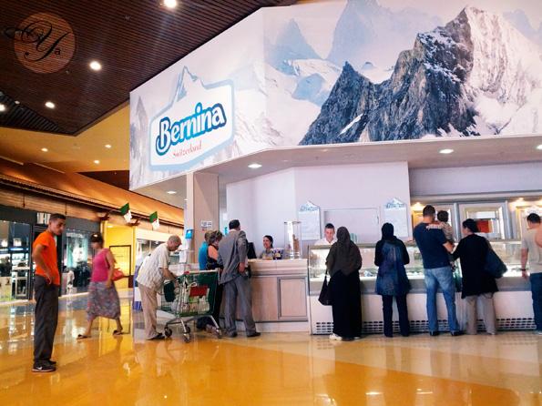 Bernina: Le glacier de Ardis, centre commercial situé à Mohammadia, Medina Center