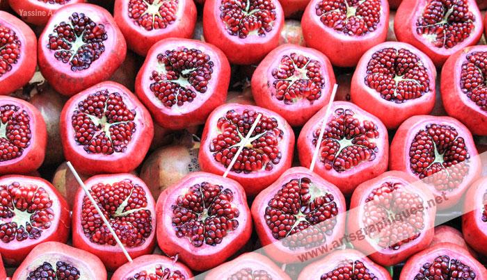 Grenades d'Istanbul (photo de fruit)