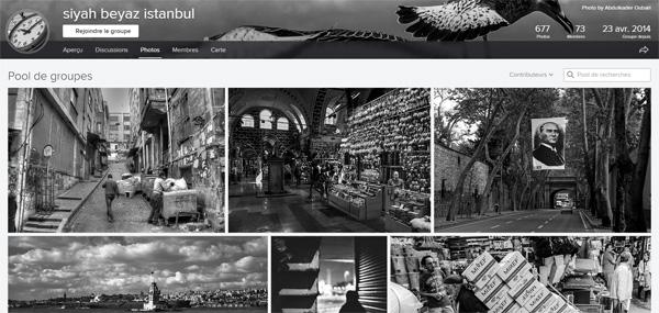 Groupes Flickr : l'affichage des photos